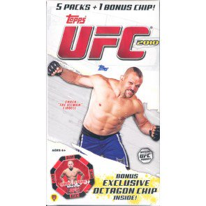 2010 Topps UFC (Series 4) Blaster 16 Box Lot