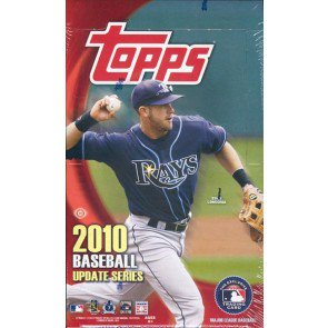 2010 Topps Update Series Baseball Hobby 12 Box Case