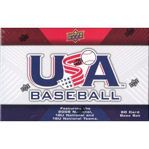 2010 USA National Teams (2009 Team) Baseball Set 10 Box Case