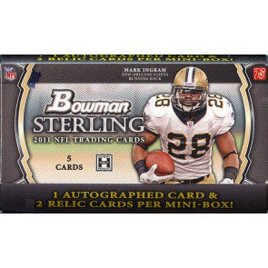 2011 Bowman Sterling Football Hobby Pack
