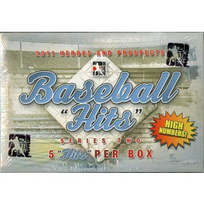 2011 ITG H/P Hits Series 2 High Num Update Baseball 12 Box Case