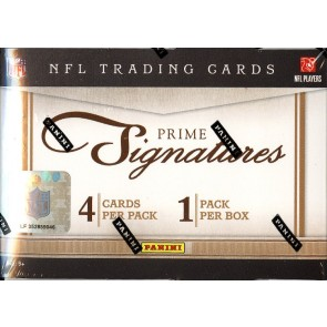 2011 Panini Prime Signatures Football Hobby 10 Box Case