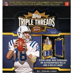 2011 Topps Triple Threads Football Hobby Box