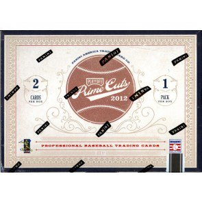 2012 Playoff Prime Cuts Baseball Hobby 5 Box Case