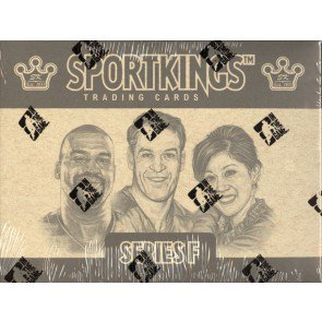 2013 In The Game (ITG) Sportkings Series F 16 Box Case