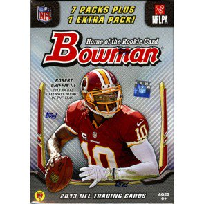 2013 Bowman Football Blaster Box