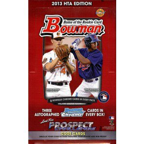 2013 Bowman Baseball Jumbo (HTA) Box