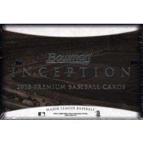 2013 Bowman Inception Baseball Hobby 8 Box Case