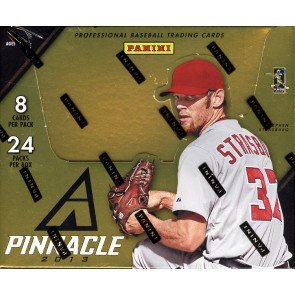 2013 Panini Pinnacle Baseball Hobby 16 Box Case