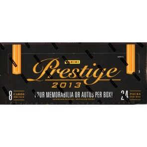 2013 Panini Prestige Football Hobby 12 Box Case