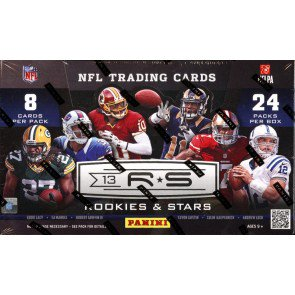 2013 Panini Rookies & Stars Football Hobby 12 Box Case