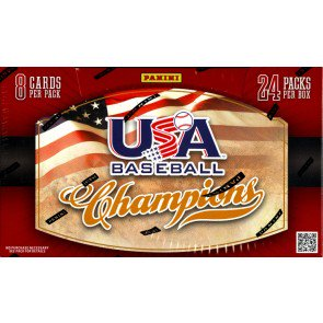 2013 Panini USA Baseball Champions 20 Box Case