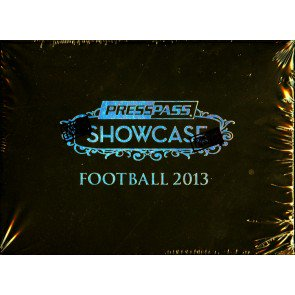 2013 Press Pass Showcase Football Hobby 10 Box Case