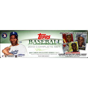 2013 Topps Baseball Factory Set Jackie Robinson Ed - 6 Set Case