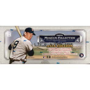 2013 Topps Museum Collection Baseball 12 Box Case - Asia Ed