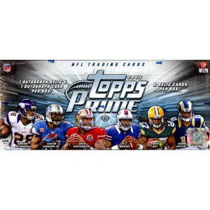 2013 Topps Prime Football Hobby 12 Box Case