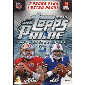 2013 Topps Prime Football Blaster Box