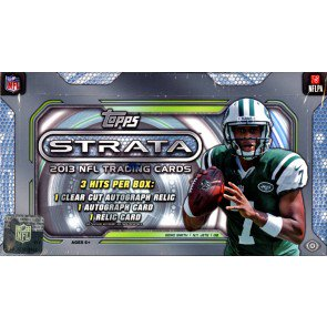 2013 Topps Strata Football Hobby 12 Box Case