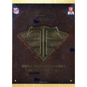 2013 Topps Triple Threads Football Hobby 9 Box Case