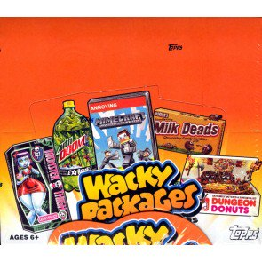 Topps Wacky Packages Series 10 Stickers 2013 - 8 Box Case