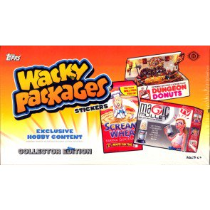 Topps Wacky Packages Series 10 - 2013 Collector Pack 6 Box Case