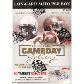 2014 Press Pass Gameday Gallery Football Blaster 20 Box Lot