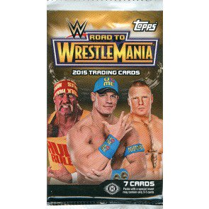 2015 Topps WWE Road To Wrestlemania Hobby Pack