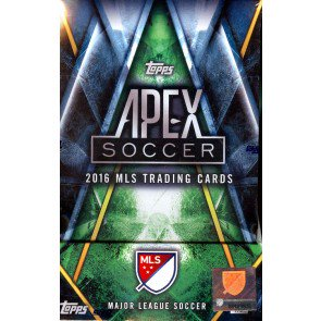 2016 Topps APEX Soccer 8 Box Case