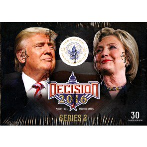 Decision 2016 Ser 2 Update Trading Cards - 16 Box Case