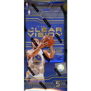 2015/16 Panini Clear Vision Basketball Hobby 8 Box Case