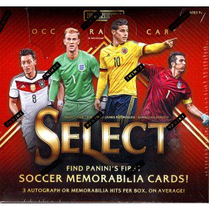 2015 Panini Select Soccer Hobby 12 Box Case