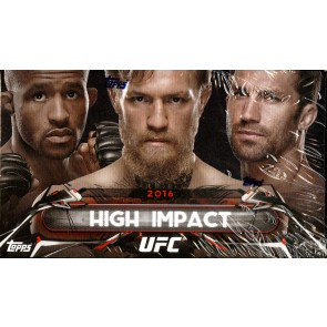 2016 Topps UFC High Impact Box