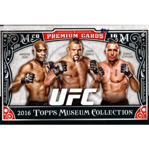 2016 Topps UFC Museum Collection Hobby Box