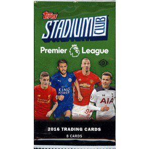 2016 Topps Stadium Club Premier League Soccer Pack