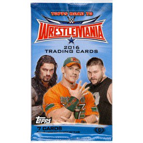 2016 Topps WWE Road To Wrestlemania Hobby Pack