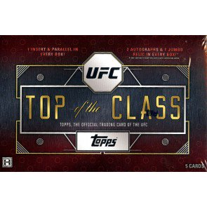 2016 Topps UFC Top Of The Class Hobby 16 Box Case
