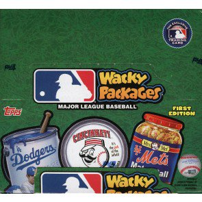 2016 Topps Wacky Packages MLB Stickers - 8 Box Case
