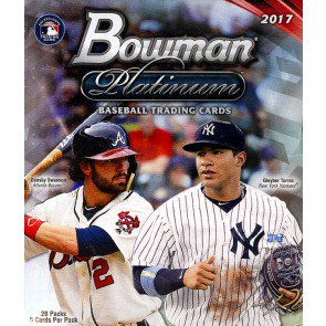 2017 Bowman Platinum Baseball Collector Box