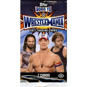 2017 Topps WWE Road To Wrestlemania Hobby Pack