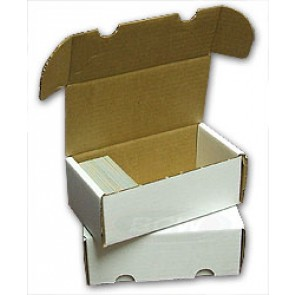 400 Count Cardboard Storage Box - 50ct Bundle