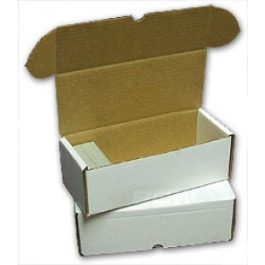 500 Count Cardboard Storage Box - 50ct Bundle
