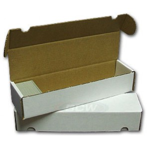 800 Count Cardboard Storage Box - 50ct Bundle
