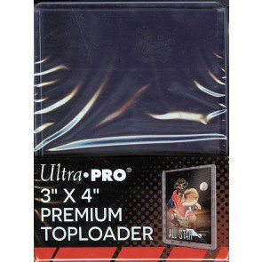 Ultra Pro 3x4 Premium Topload Card Holder - 25ct Pack
