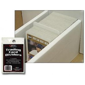 BCW Card Sleeves Dividers - 1,000ct Case