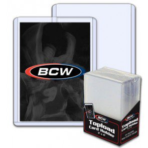 BCW 3x4 Topload Card Holder - Standard 12 Mil (25 ct Pack)