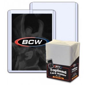 BCW 3x4 x 1.5mm - Action Packed Topload Holder 59pt (25ct Pack)