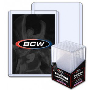 BCW 3x4 x 5mm -Thick Card Topload Holder 197pt (10 ct. pack)