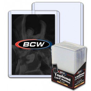 BCW 3x4 Topload Card Holder - Premium - 40 Pack Case