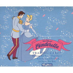 Cinderella Trading Cards (Skybox) - Box
