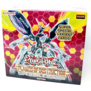 Yugioh Flames of Destruction Special Edition 12 Box Case